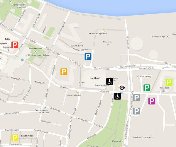 Find Vej Og Parkering Dgi Huset Nordkraft