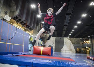 BLAM spring på trampoliner 16+