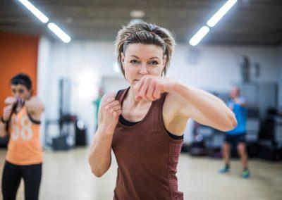 Fitnessboksning