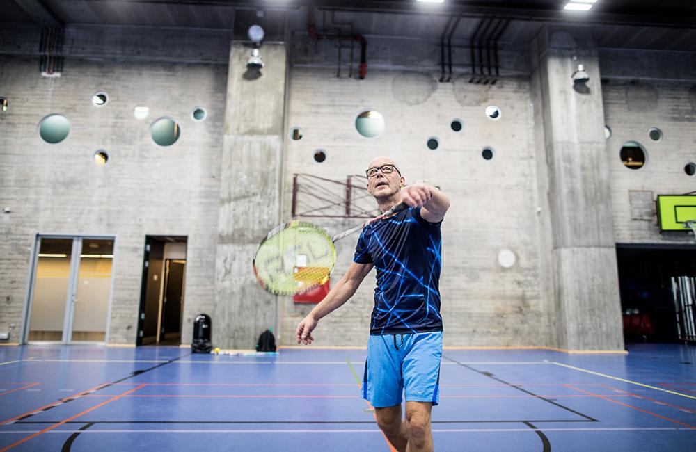 Badminton hos DGIHusetNordkraft
